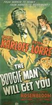 The Boogie Man Will Get You 1942 DVD - Boris Karloff / Peter Lorre